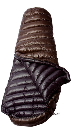 Yeti Passion Five Sleeping Bag XL brown/black